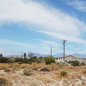 Flat Lot on Paved Road at the Edge of Desert Hot Springs, California - Image 1