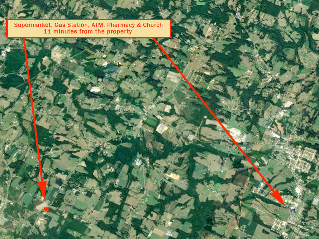 Great One Acre Property on Alabama Country Road - Image 5