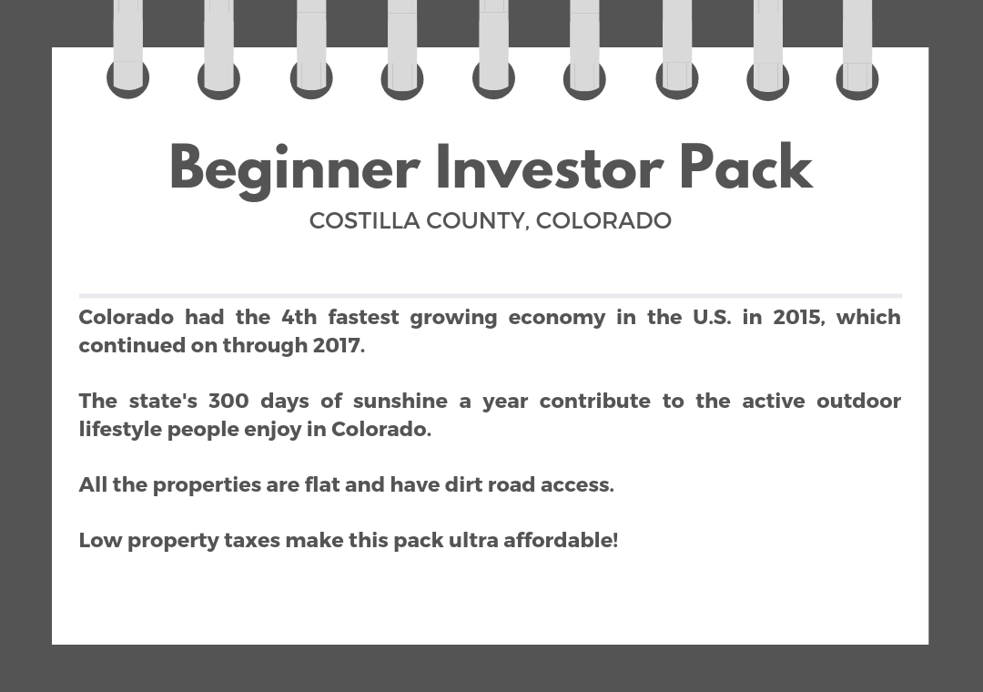 Almost 15 Acres in This Colorado Beginner Pack - Image 1