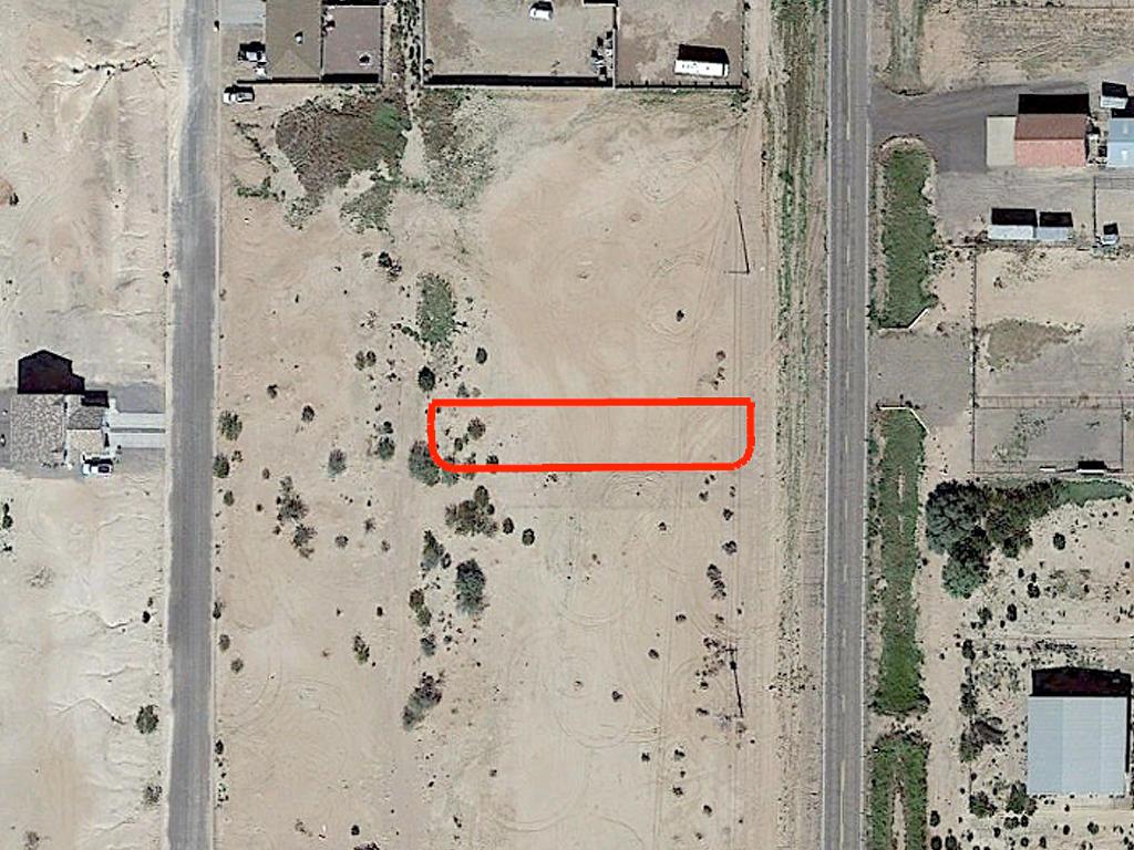 Narrow Residential Ready Arizona City Lot - Image 1