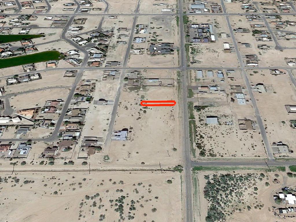 Narrow Residential Ready Arizona City Lot - Image 2