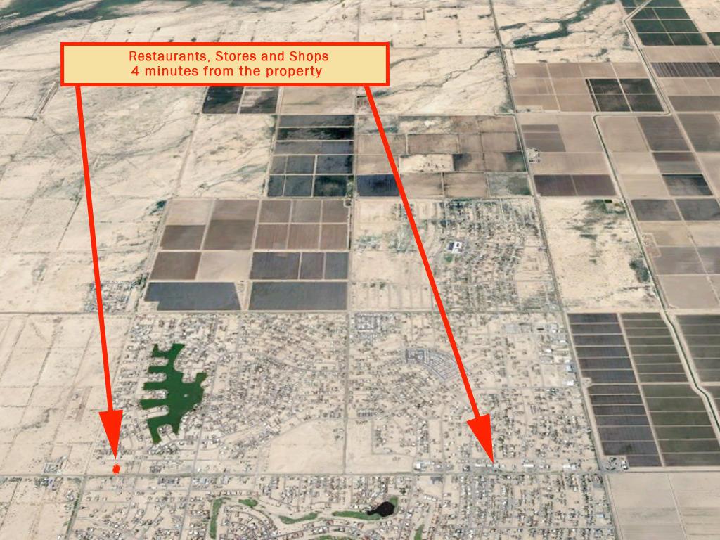 Narrow Residential Ready Arizona City Lot - Image 5