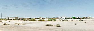 Narrow Residential Ready Arizona City Lot