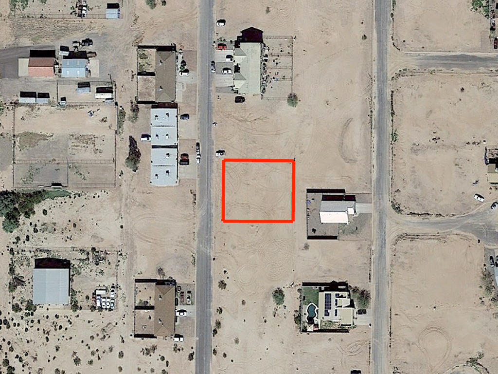 Flat Ready To Build Arizona City Property - Image 1