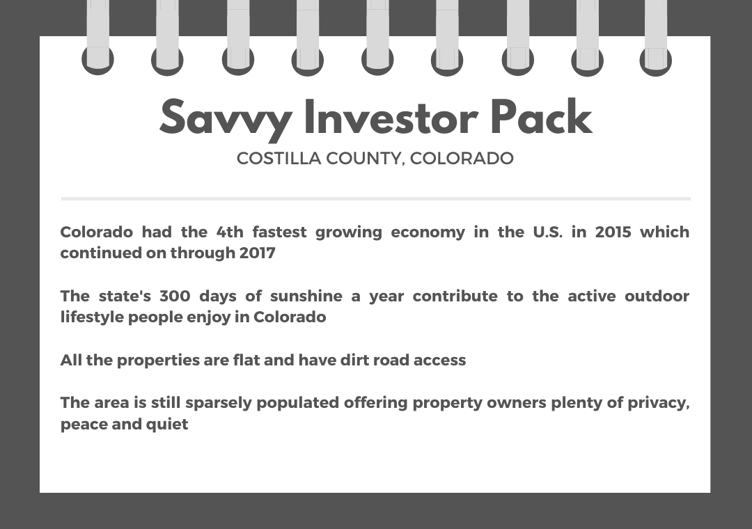 Savvy Investor Pack of Over 25 Acres of Southern Colorado Land - Image 1